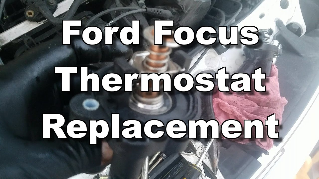 Ford Focus Thermostat Replacement 2005 2011 Youtube 2007 Fusion Cooling System