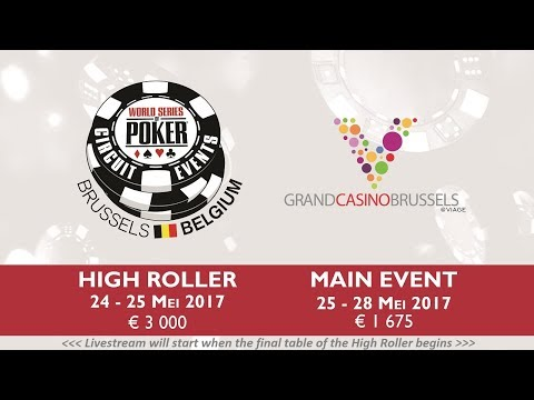 WSOPC Brussels Viage Main Event - PokerCityNL Live Stream