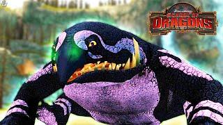 NEW FLIGHTLESS DRAGON! School of Dragons: Dragons 101 - The Cavern Crasher screenshot 3