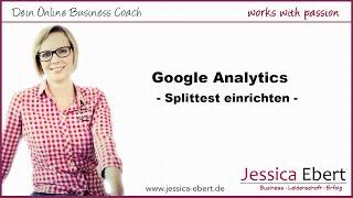 Splittest mit Google Analytics