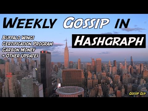 Weekly Gossip In Hashgraph – Buffalo Wings, Certification Program, Carbon + Other Updates