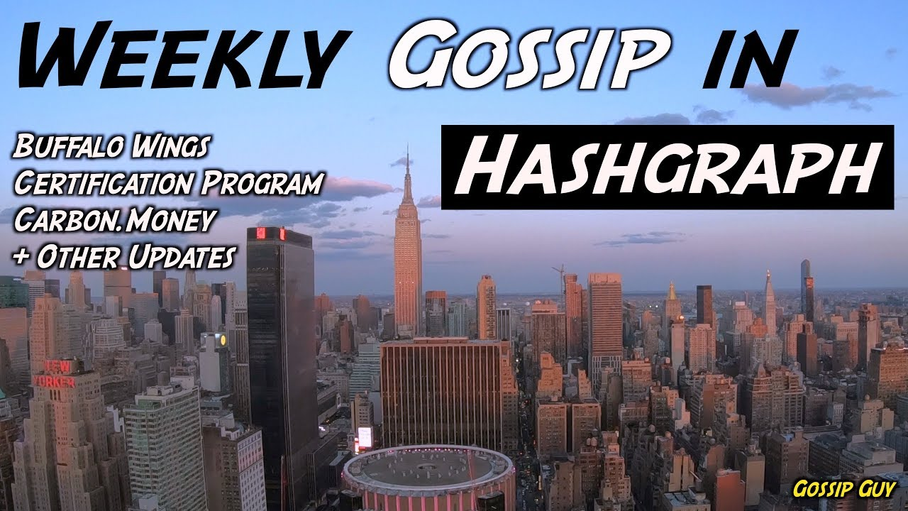 Weekly gossip in hashgraph buffalo wings certification program weekly gossip in hashgraph buffalo wings certification program carbon other updates 1betcityfo Images