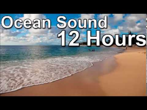 sleep with the ocean sound   12 hour of sea sounds full night relax meditation zen music