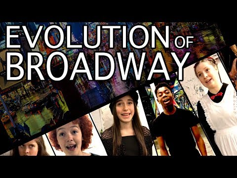 EVOLUTION OF BROADWAY! Ft. Dear Evan Hansen, Les Mis, Rent,