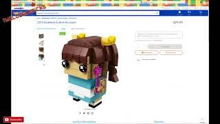 The LEGO Go Brick Me Brickheadz  NEW not out yet ! 41597