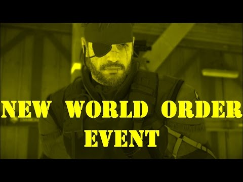 Metal Gear Solid 5 - Forward Operating Base Missions - Big Boss - New World Order Event 2017/4/4