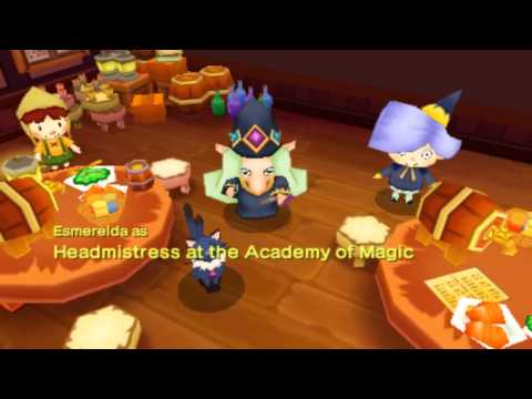 Fantasy Life: Magician/Wizard Master Celebration Song/Party