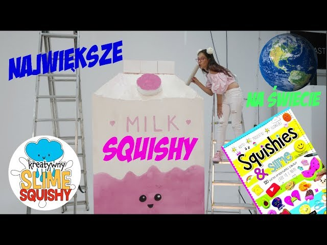 ? NAJWI?KSZE SQUISHY NA ?WIECIE - WORLDS LARGEST SQUISHY | Pusheen Girl