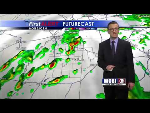 Meteorologist Jacob Dickey - 8AM Weather Update
