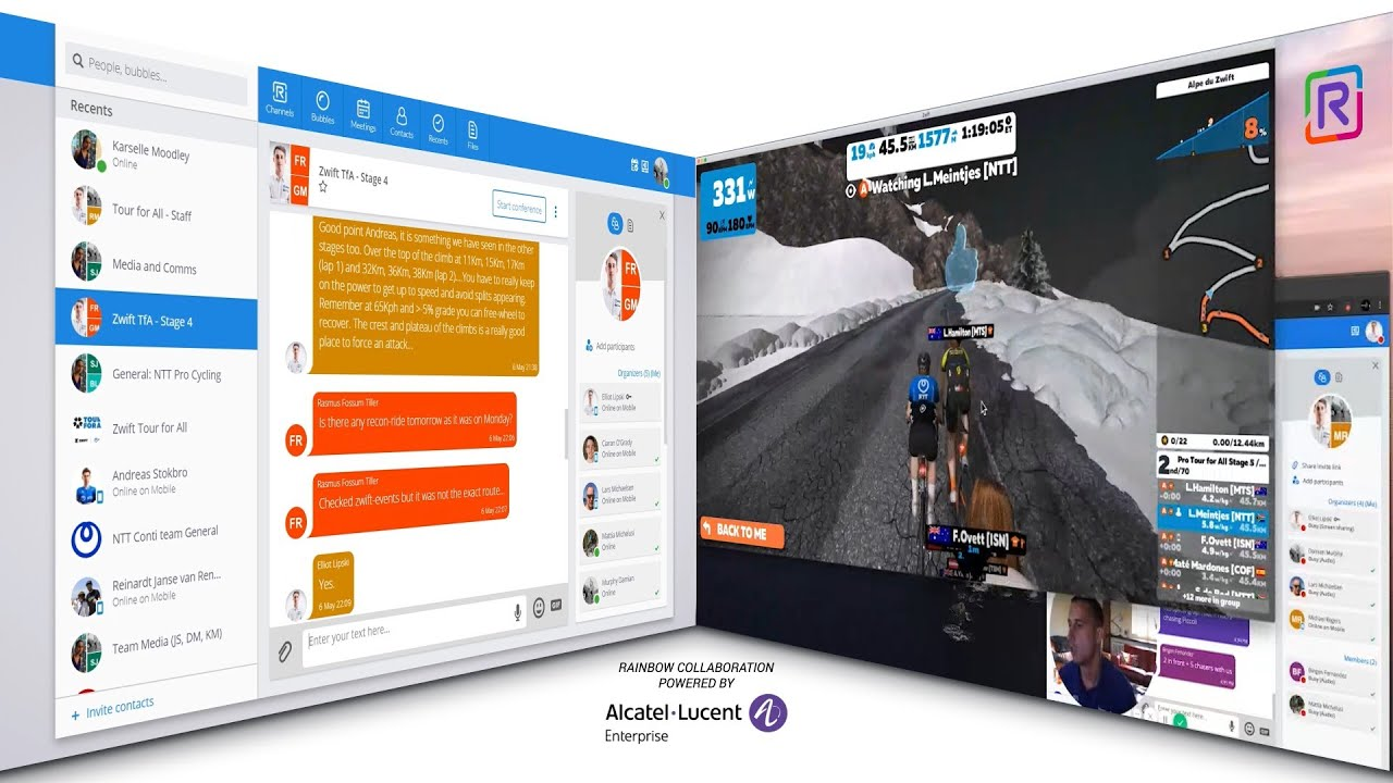 How NTT Pro Cycling won the Zwift Tour For All