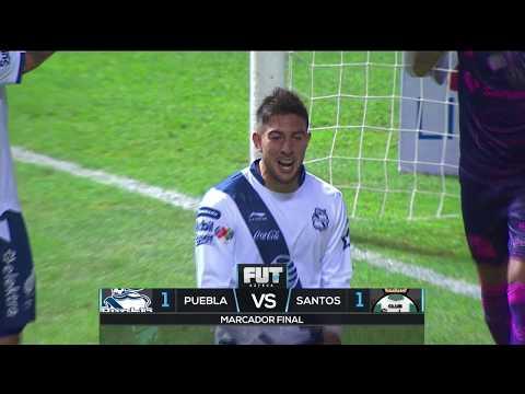 Liga MX | Puebla 1-1 Santos | Clausura 2019, Jornada 3 | FUT AZTECA