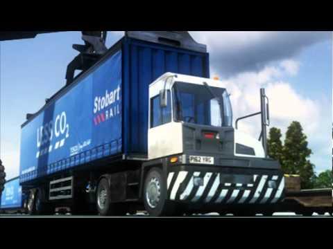 Lyon - Tesco - 3D  Industrial Warehouse Logistics Animation