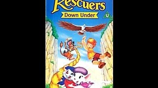 Digitized opening to The Rescuers Down Under UK VHS