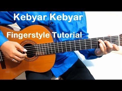 Belajar Gitar Kebyar Kebyar - Kebyar Kebyar Fingerstyle Guitar Mudah & Simpel Untuk Pemula
