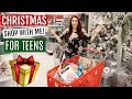 Shop With Me! Buying CHRISTMAS Gifts For My TEEN Daughters!