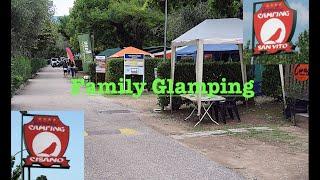 (FULL TOUR) Camping Cisano & San Vito / Lake Garda, Italy: with THE DEE'S