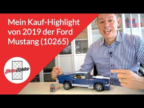 Das Kauf Highlight von 2019 der Ford Mustang (10265) von Lego.