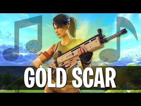 🎵GOLD SCAR - Fortnite Piosenka (Young LEESOO)
