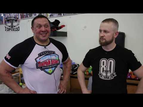 Михаил Кокляев провёл круговую тренировку в б/к Торпедо