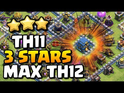 *THIS IS RARE* TH11 vs MAX TH12 3 Star Attack! | CLASH OF CLANS