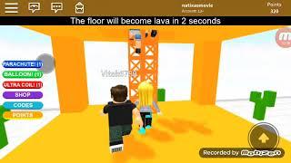 podłoga to lava !! | Roblox The floor is lava