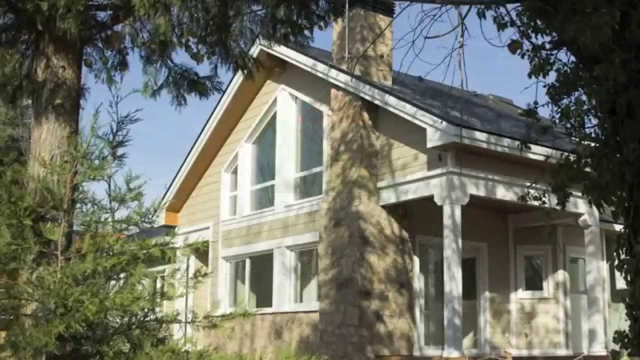 Casa adosada de madera estilo americano youtube for Casas estilo americano