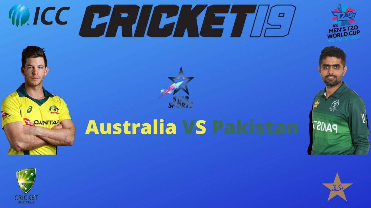 Cricket 19 Gameplay   Australia vs Pakistan ICC Cricket World Cup 2020