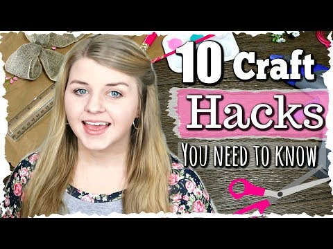 🎀✂️ Crafting Life Hacks You Need To Know | Tips And Tricks For Crafting | Krafts by Katelyn
