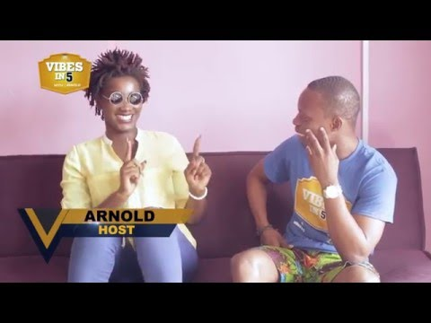 Meet the hottest female dancehall act in Ghana - EBONY on Vibes in 5 with Arnold