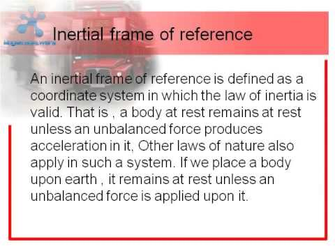 FRAMES OF REFERENCE , chapter dawn of modern physics class 12 BY ...