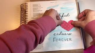 Bible Journaling in my Illustrating Bible