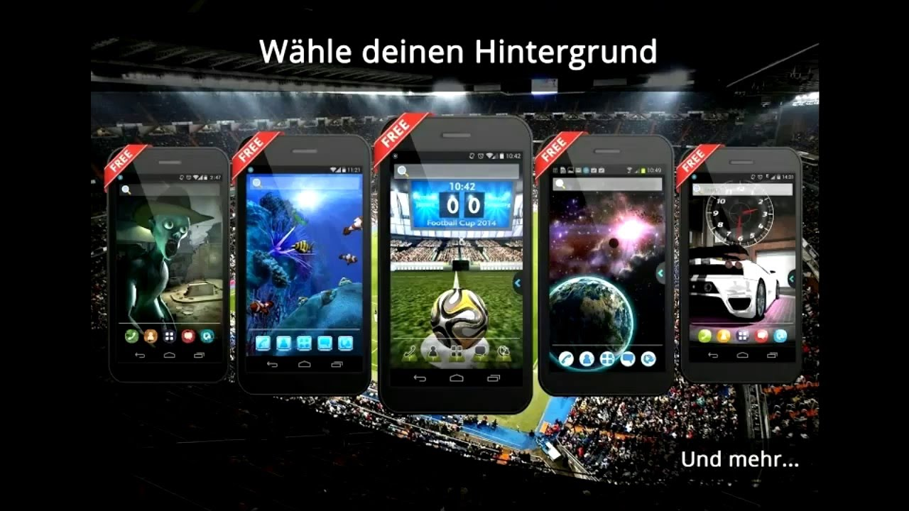 Ur 3d Fussball Wm Wallpaper Live Theme App