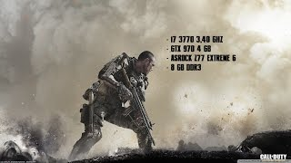 Call Of Duty: Advanced Warfare | PC Gameplay | GTX 970 |