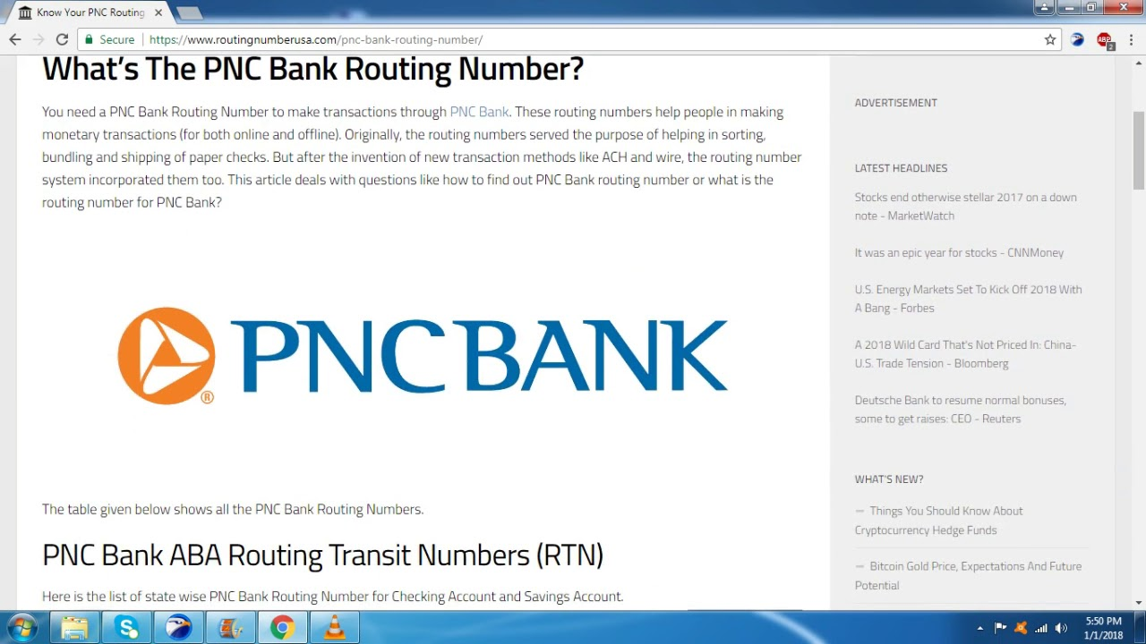 pnc account number on checks