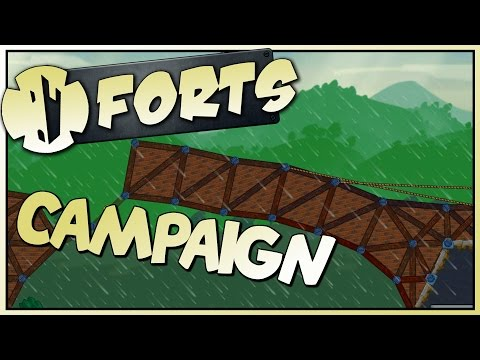 BIGGER & FLOPPIER - Forts Campaign Gameplay - Stream VoD [Let's Play Forts Gameplay]