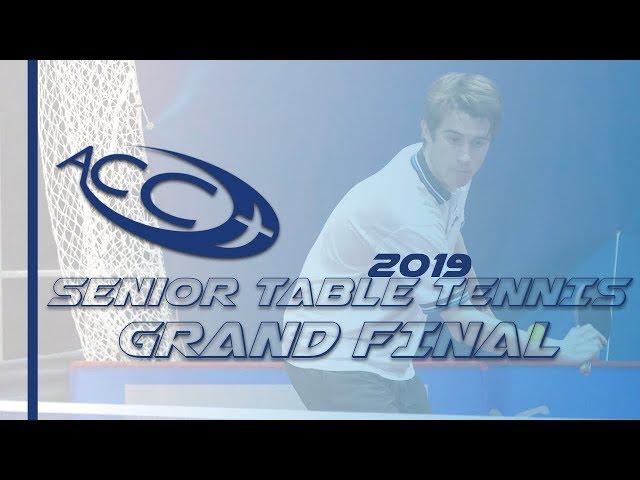 ACC Senior Table Tennis 2019