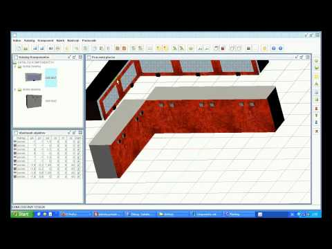 Java 3D - Kitchen Planner