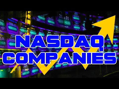 All NASDAQ Companies · Ticker Symbols & Key Market Information
