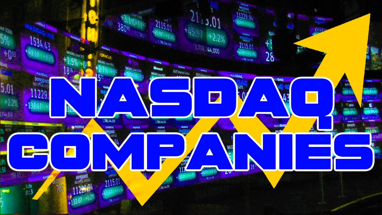 All Nasdaq Companies Ticker Symbols Key Market Information Youtube