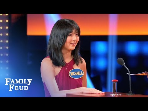 She said PEA-NUT Steve | Celebrity Family Feud