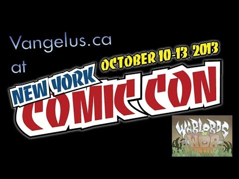 NYCC 2013 Interview - Brandon Barker - Warlords of Wor, Man Or Monster Studios