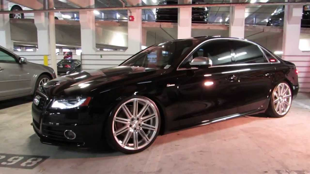 2011 Audi S4 On Vossen Cv4 By Advanced Detailing Of South