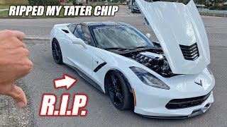 My 850 Horsepower C7 Corvette Blew Up... Here's What Happened! (bald eagle down)