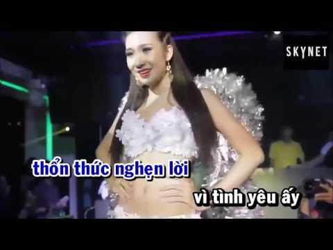 karaoke khoang cach remix khanh phong by skynet