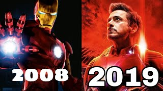 Iron Man - Evolution of every SUIT UP [2008 - 2019] | BY RX EVOLUTION SERIES