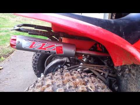Big Gun Exhaust Honda TRX 90