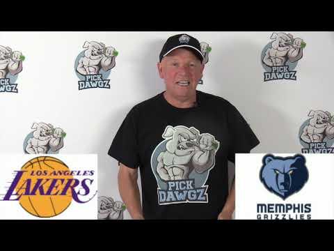 Los Angeles Lakers vs Memphis Grizzlies 2:29:20 Free NBA Pick and Prediction NBA Betting Tips