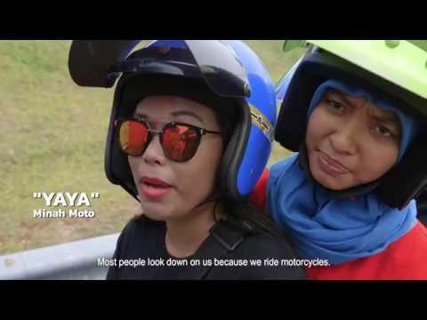 Women Motorbike Riders Of Malaysia   HIJAB RIDERS   COCONUTS TV ON IFLIX