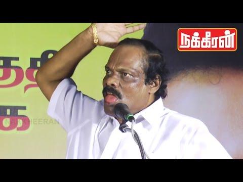 Dindugal Leoni acting like Vijayakanth | Ultimate funny video ! | TN Elections 2016