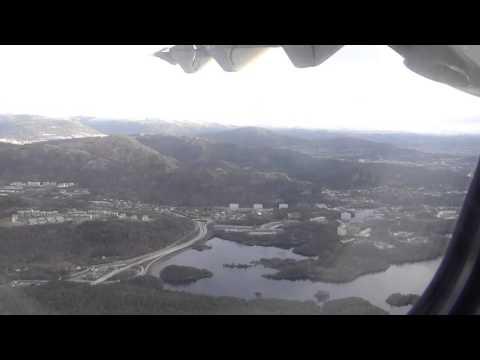 2015|01|09  Final descent and landing in Bergen